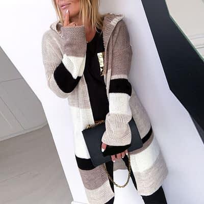 2019 Autumn New Arrival Sweaters Cardigans For Women Twist Long Jacket Female Knitwear Long Sleeve Knitted Cardigan Sale#G30