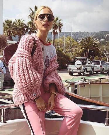 Pink Coarse Knitted Sweater Women 2020 Winter Fashion Lantern Sleeve Cardigan Female Open Front Korea Sweater Coat 2