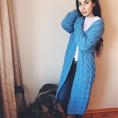 RUGOD 2019 New Spring&Winter Knitted Crochet Sweater for Women Long Twisted cardigan dress Open female sweaters cardigan women 2