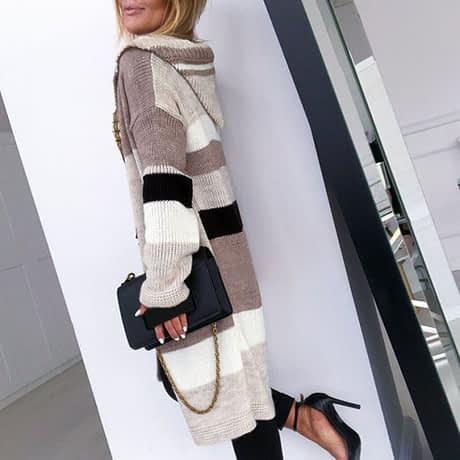 2019 Autumn New Arrival Sweaters Cardigans For Women Twist Long Jacket Female Knitwear Long Sleeve Knitted Cardigan Sale#G30 1